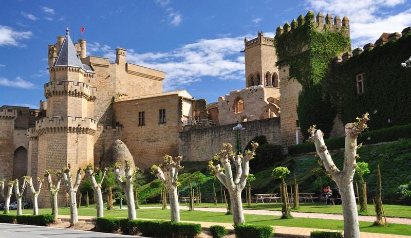 Palacio Real de Olite en Castillos de Cuento por España