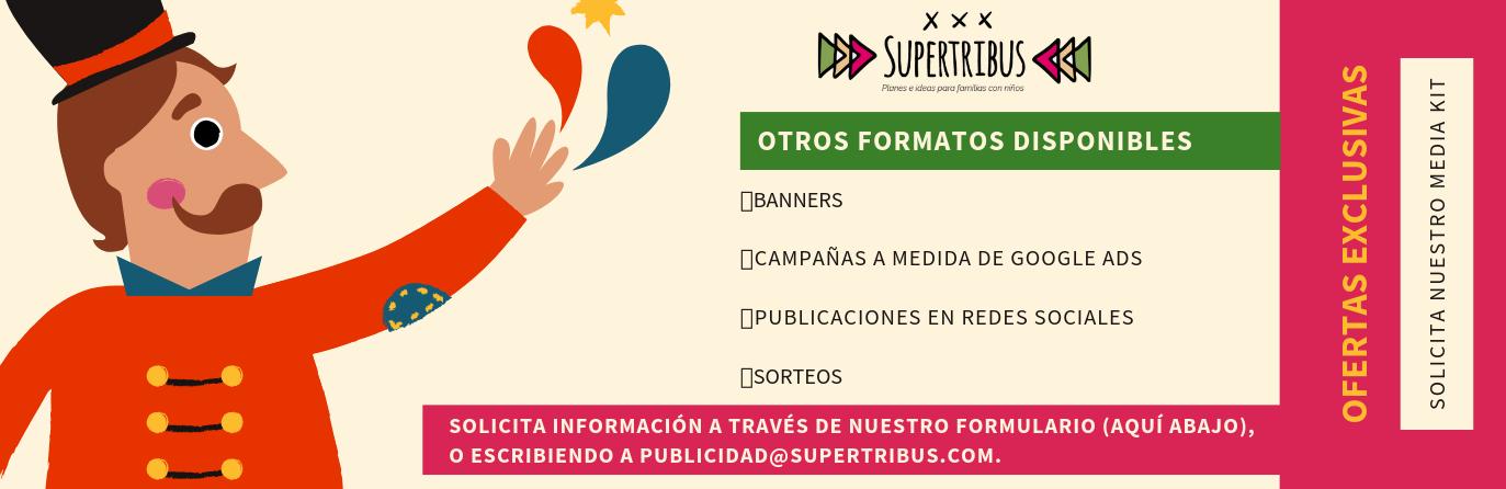 FORMATOS PUBLICIDAD SUPERTRIBUS ANÚNCIATE