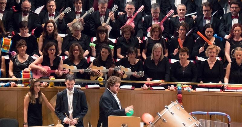 Música y Juguetes: un concierto único para familias con un coro muy especial