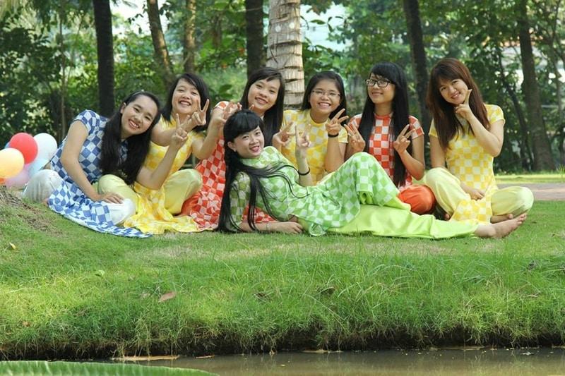 Ao Dai trajes típicos de Vietnam El Tet Año Nuevo Vietnamita en Supertribus