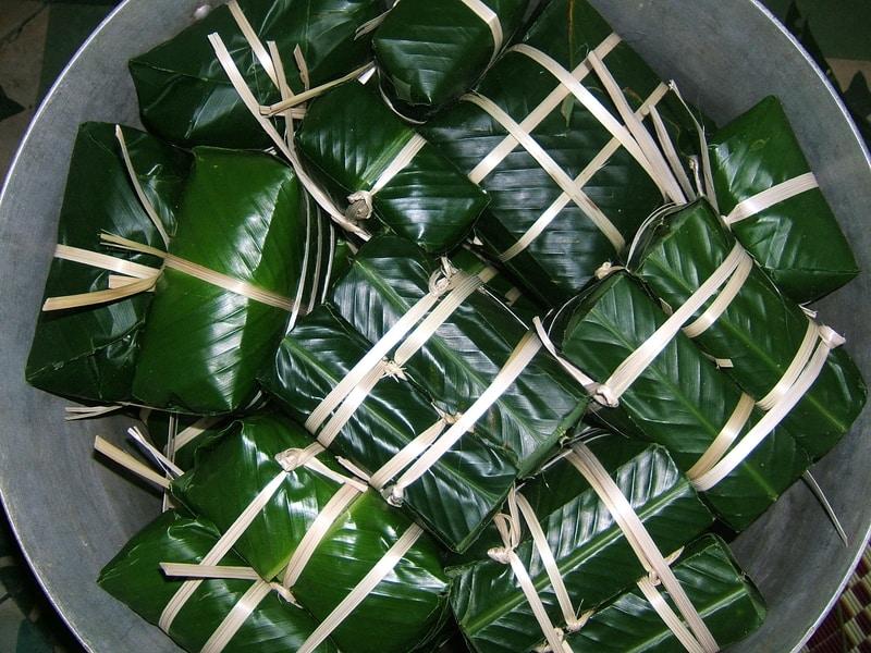 En el año nuevo vietnamita se degusta comida tradicional como pho y el banh chung