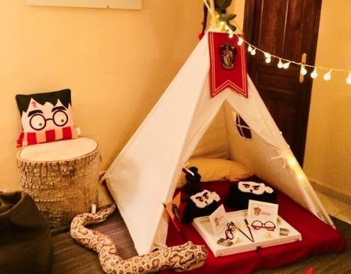 FIESTAS DE HARRY POTTER CON TIPIS