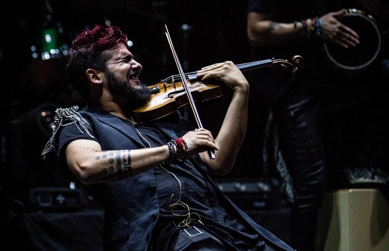 Strad el pequeño violinista rebelde en Madrid