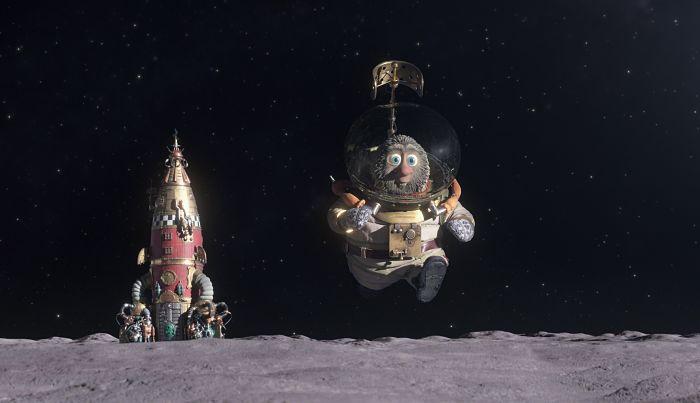 Solan & Eri misión a la luna, en Supertribus