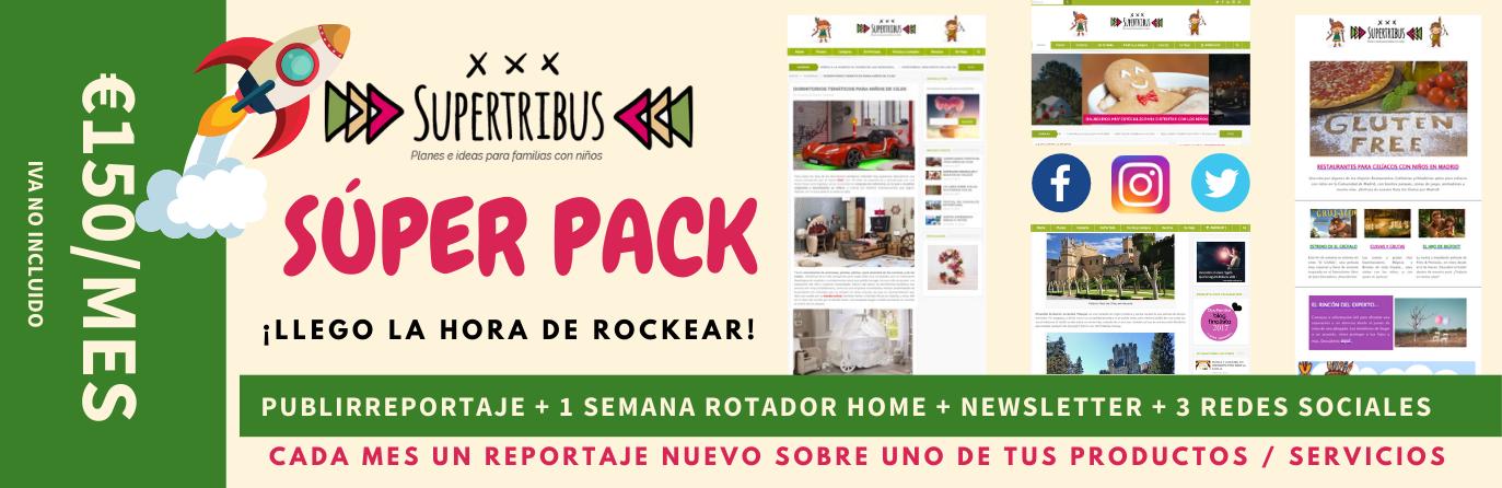 Súper Pack Publicidad en Supertribus Planes con Niños