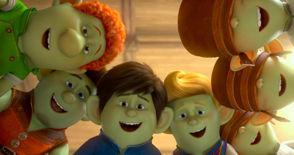 Zapatos Rojos y los 7 Trolls estreno en cines